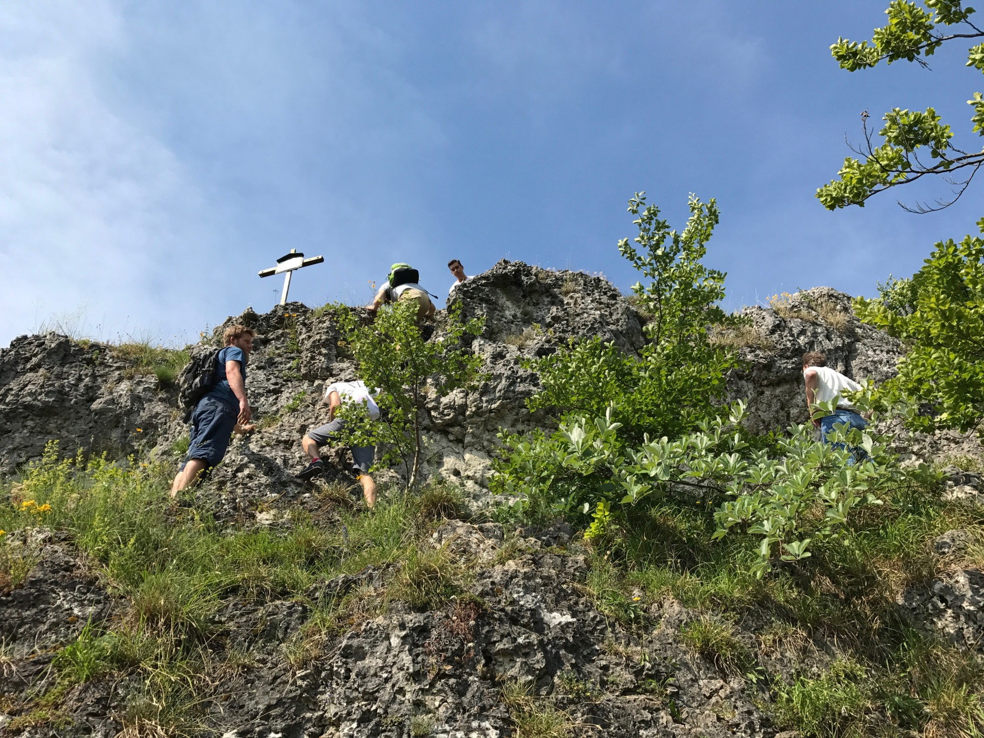 "Zum Artikel ""Group hiking trip near Hirschbach"""